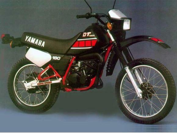 Ficha Técnica da Yamaha DT 180
