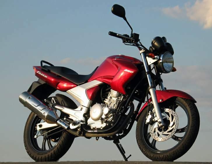 Yamaha Fazer 250 Ficha Técnica