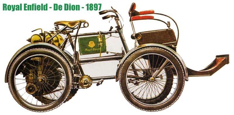 Carro da Royal Enfield Quadriciclo