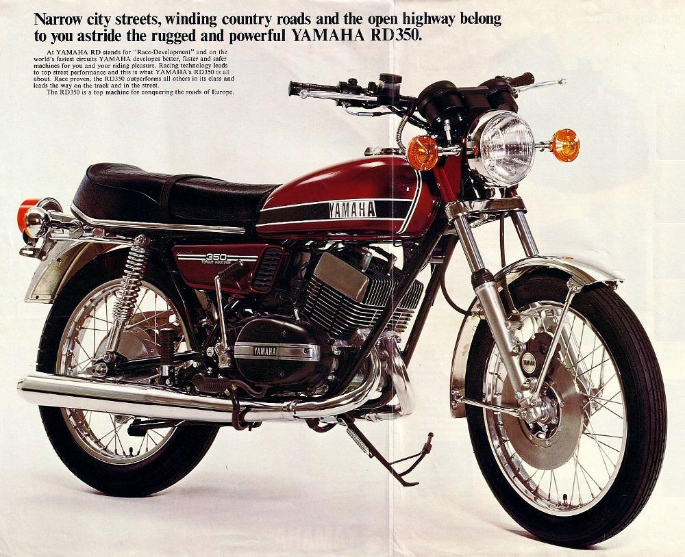 Yamaha RD 350 - Viúva Negra