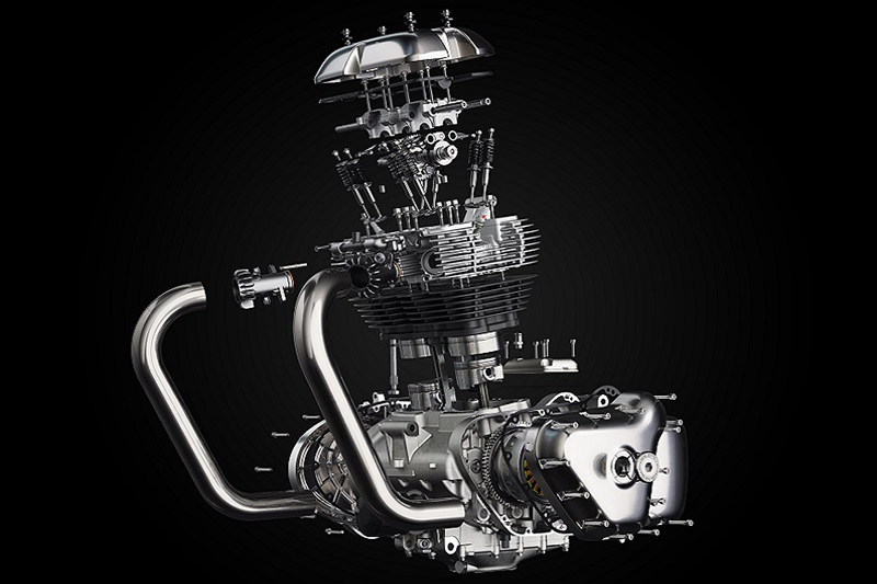 Motor 650 twin royal enfield
