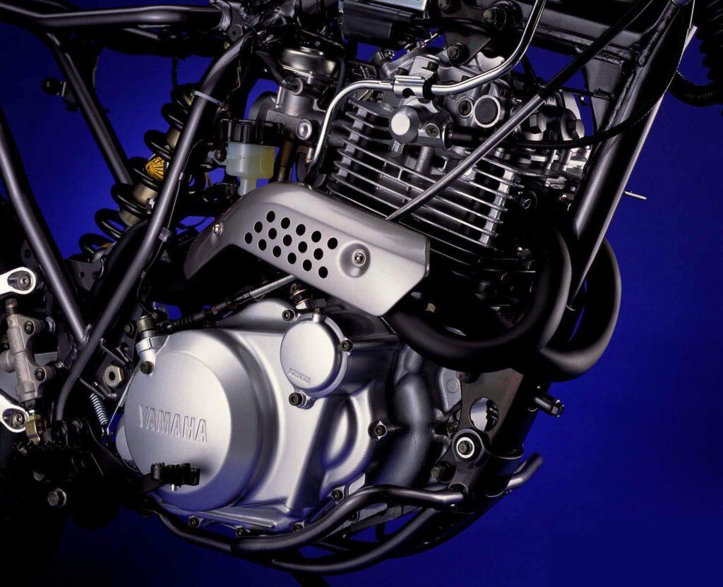 Motor da Yamaha XT600E